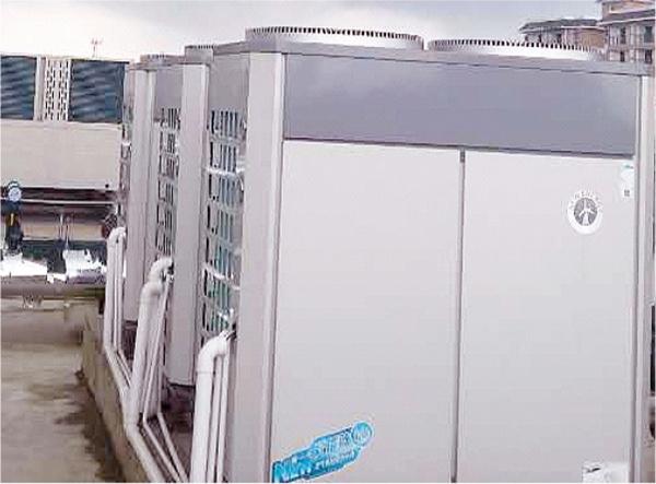 贵州威宁喜臣大酒店空气能热泵工程