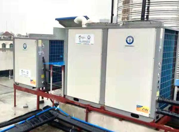 精途酒店空气能热水项目