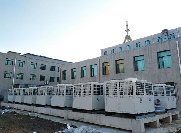 沈阳师范大学东佳瑞士酒店空气能采暖项目
