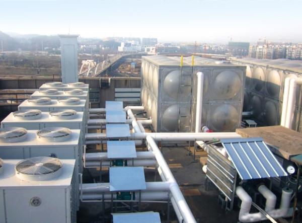 安徽中石油黄山阳光酒店空气能热水采暖项目